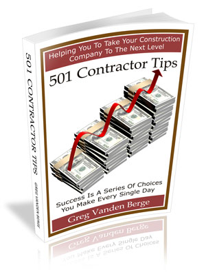 Contractor Tips Book